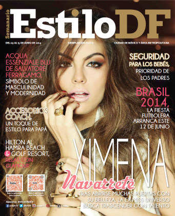 Ximena Navarrete en Revista Estilo DF