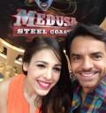 Danna Paola y Eugenio Derbez