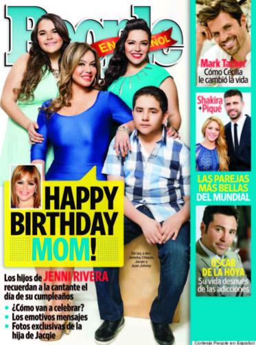 Hijos de Jenni Rivera la recuerdan en su cumpleaños