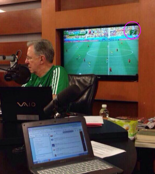 Joaquín López Dóriga disfruta del Mundial por Tv Azteca