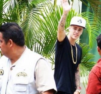Justin Bieber vacaciona en Cancún