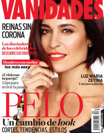 Luz María Zetina en revista Vanidades