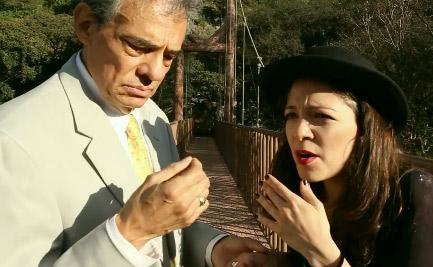 Natalia Lafourcade y José José
