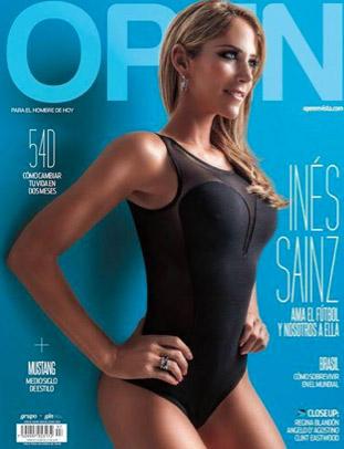 Inés Sainz en Revista Open