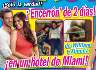 William Levy y Ximena Navarrete en portada Tv Notas