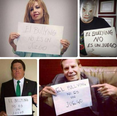 Famosos contra el bullying