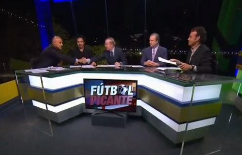 Pleito entre Chelis y Joserra en Fútbol Picante