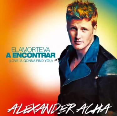 El amor te va a encontrar nuevo sencillo de Alexander Acha