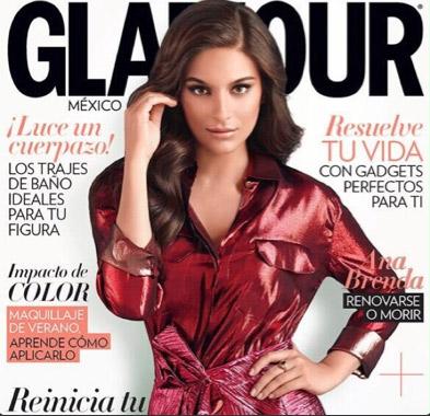 Ana Brenda Contreras en Glamour