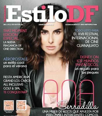 Ana Serradilla en revista Estilo DF
