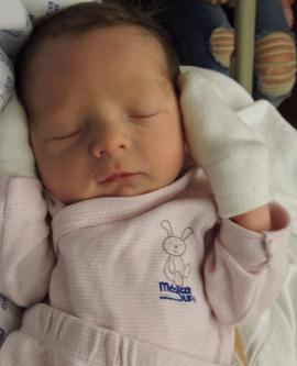 Bebé de Mariana Ochoa