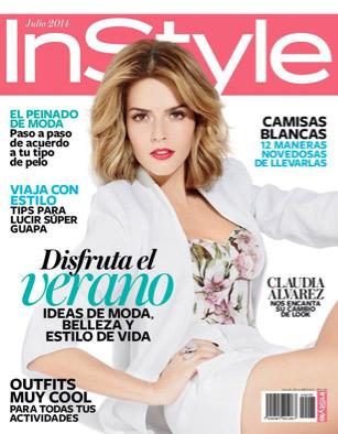 Claudia Álvarez en InStyle