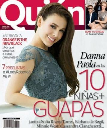 Danna Paola en revista Quién