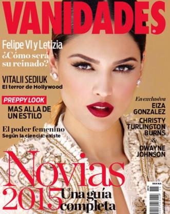 Eiza González en revista Vanidades