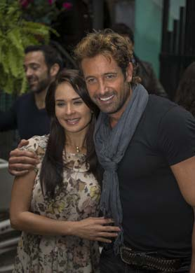 Gabriel Soto y Adriana Louvier