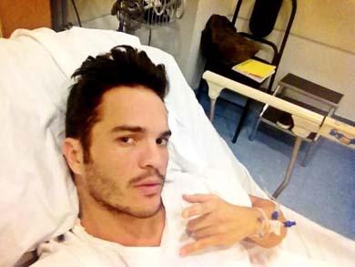 Kuno Becker tuvo que ser hospitalizado