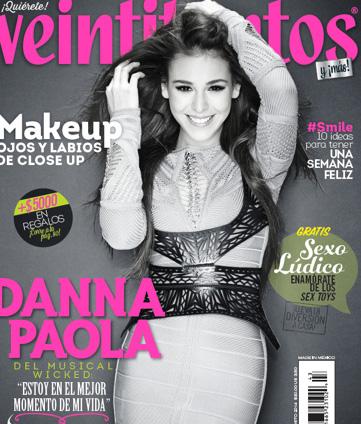 Revista Veintitantos con Danna Paola