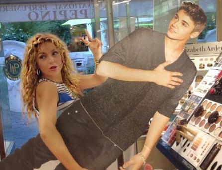 Thalía es fan de Justin Bieber