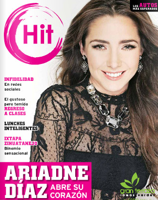 Ariadne Díaz en revista HIT