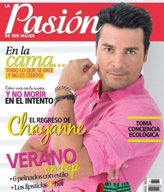 Chayanne en la revista Pasión