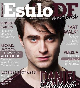 Daniel Radcliffe en Estilo DF