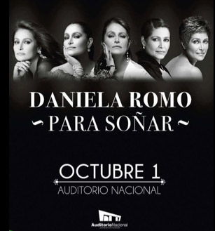 Daniela Romo Auditorio Nacional