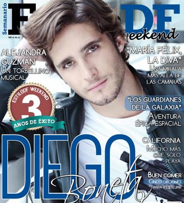 Diego Boneta en Estilo DF
