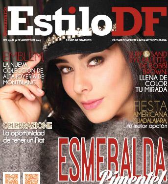 Esmeralda Pimentel en Estilo DF