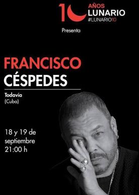 Francisco Céspedes en Lunario