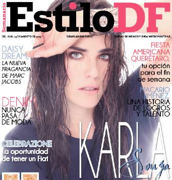 Karla Souza en Estilo DF