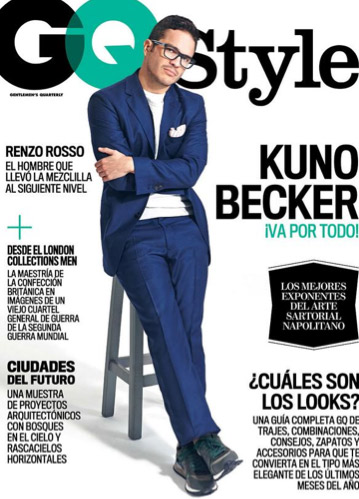 Kuno Becker en GQ