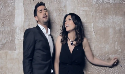 Laura Pausini y Alex Ubago