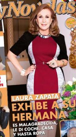 Laura Zapara revela la verdad de su hermana Gabriela Sodi