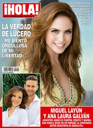 Lucero rompe el silencio en Revista HOLA