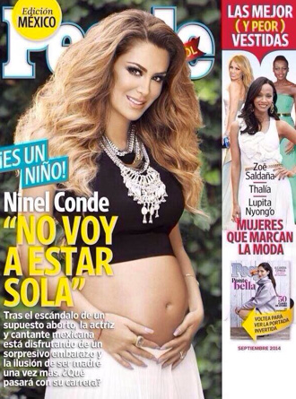 Ninel Conde confirma que tendrá un varón