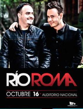 Río Roma 16 de octubre en Auditorio Nacional