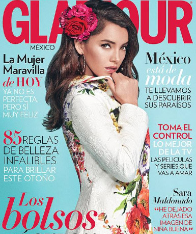 Sara Maldonado en revista Glamour