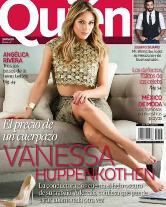 Vanessa Huppenkothen en revista Quién