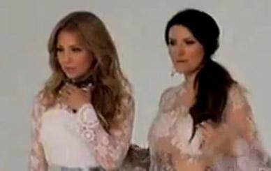 Thalía y Laura Pausini juntas