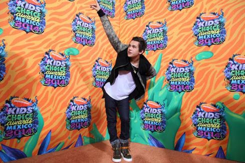 Austin Mahone en KCA México 2014