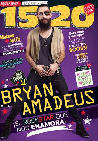 Bryan Amadeus en Revista 15 a 20
