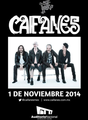 Caifanes en Auditorio Nacional 1 de noviembre