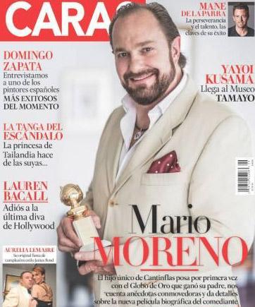 Mario Moreno hijo en Caras