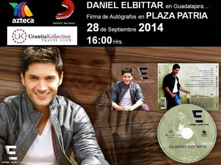Daniel Elbittar Firma de autógrafos