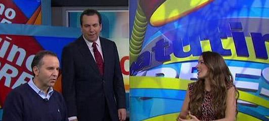 Eduardo Salazar se despide de Matutino Express