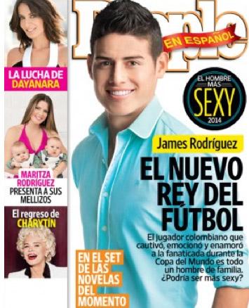 James Rodríguez en People en español