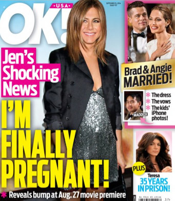 Jennifer Aniston embarazada