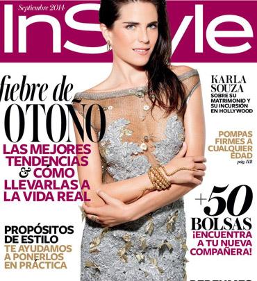 Karla Souza en Revista InStyle
