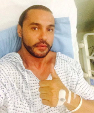Latin Lover hospitalizado