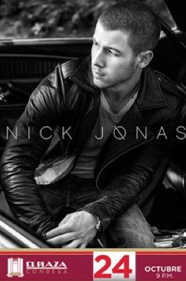 Nick Jonas en México
